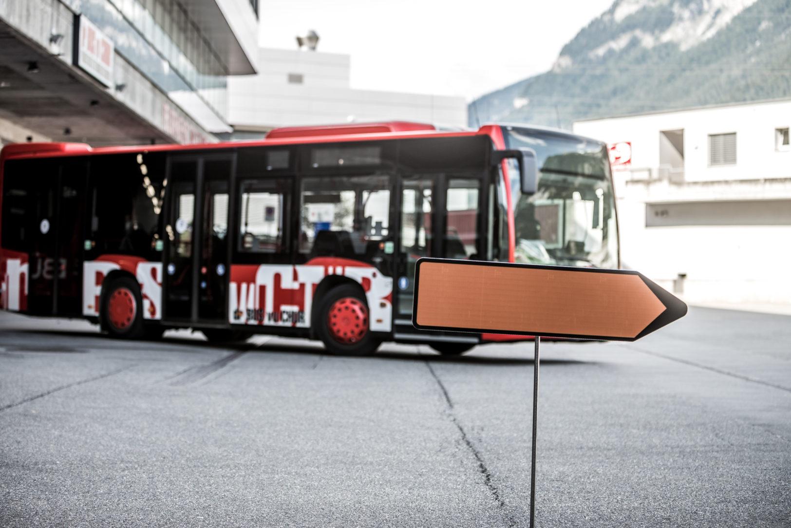 Chur Bus - Information Umleitung