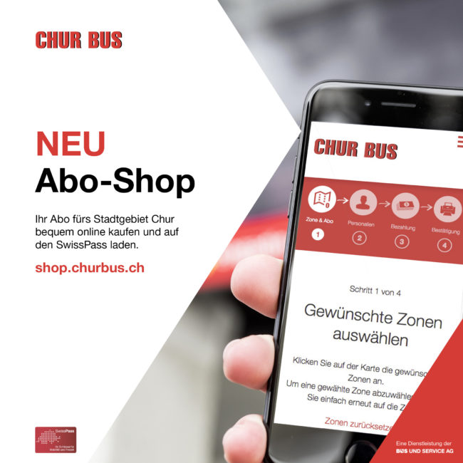 Abo-Shop Chur Bus