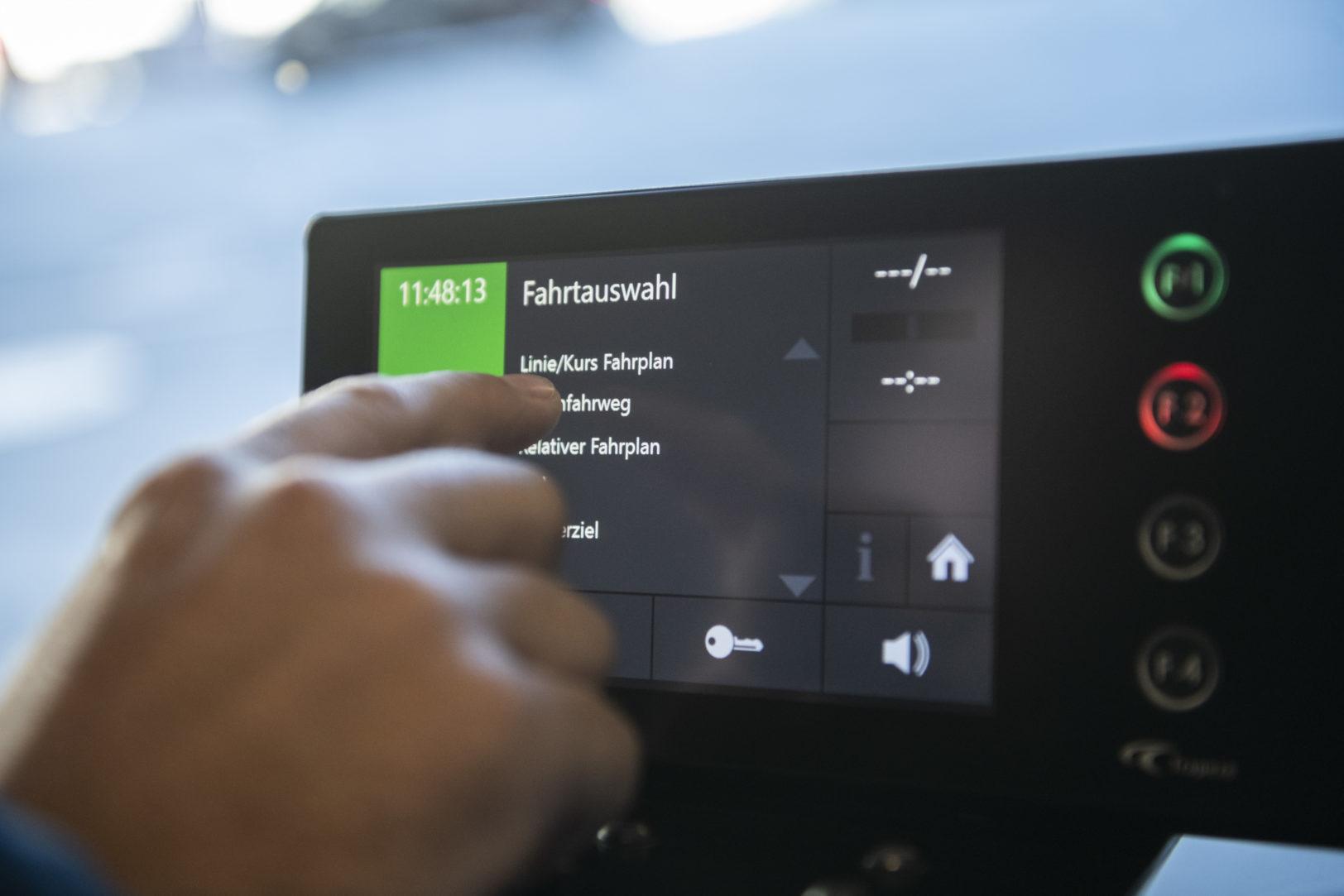 Fast Forward ins Digitalzeitalter: Linienwähler und Leitsystem