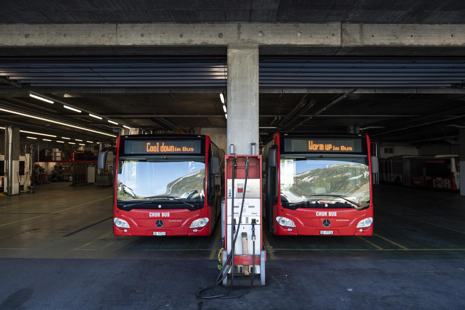 Chur Bus stabilisiert den Kreislauf